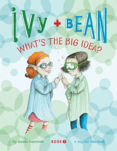 Kids Book Review & Giveaway: Ivy & Bean Book 7 – What's The Big Idea?