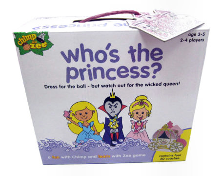 Kid's Game Review and Giveaway: Who's The Princess? *WINNER ANNOUNCED*