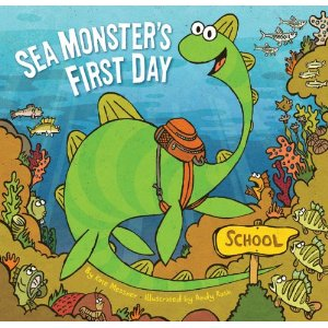 Kid's Book Review (Back to School Edition): Sea Monster's First Day
