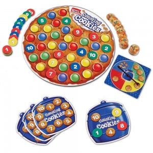 Kid's Game Review: Learning Resources Smart Snacks Counting Cookies