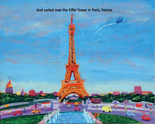 Kid's Book Review: Bye Bye Balloon