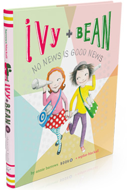 "Kid's Book Review: Ivy & Bean Book 8 ""No News Is Good News"""