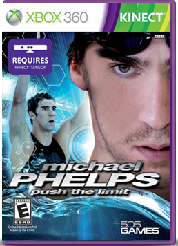 Xbox Kinect Game Non-Review: Michael Phelps Push The Limit Swimming