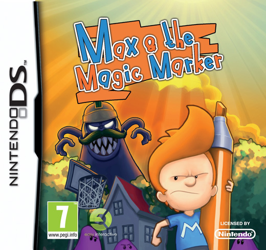 Nintendo DS Game Review: Max and the Magic Marker