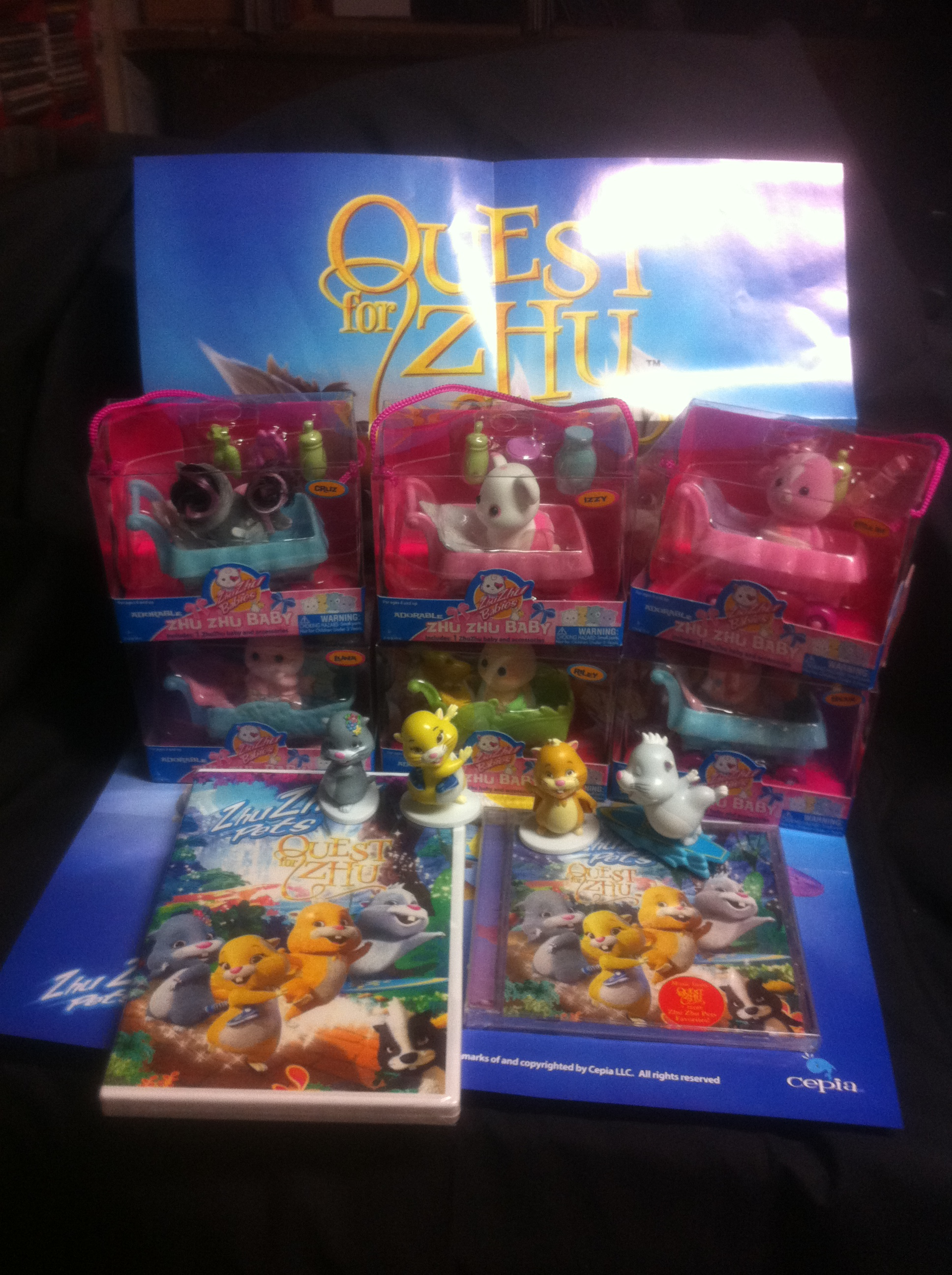 Quest For Zhu Amp Zhu Zhu Pets Giveaway Winner Selected
