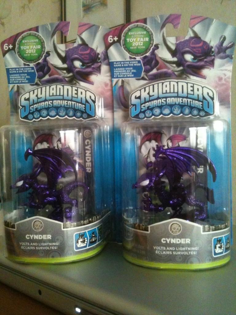 Skylanders Toy Fair Exclusive Cynder Giveaway Winners