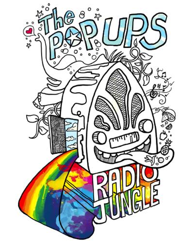 The Pop Ups – Radio Jungle Kids CD Review
