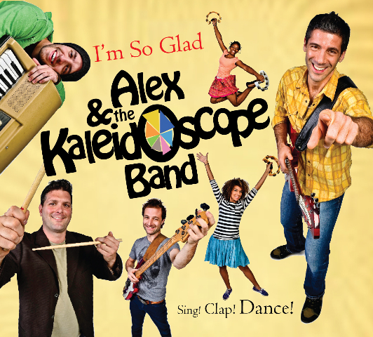 Alex & The Kaleidoscope Band – I'm So Glad Kid's CD Mini Review