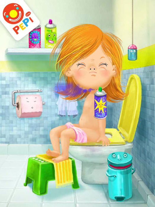 iOS & Android App For Kids Review: Pepi Bath