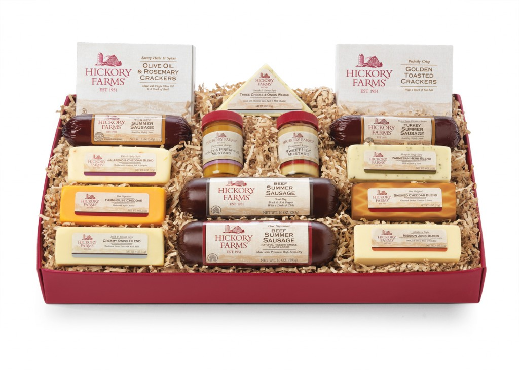 Home For The Holidays With Hickory Farms & A Giveaway!