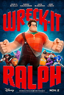 The At-Home Dad Chronicles: Wreck-It Ralph Made Me Cry And I'm Not Afraid To Admit It