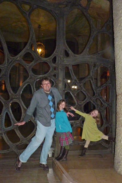 The Girls and Me Gaudi Curves