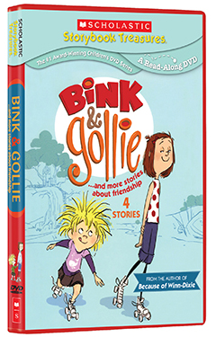Bink & Gollie Receive The Scholastic Storybook Treatment