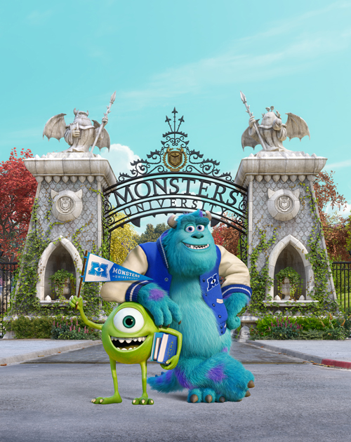 The First Morning At Monsters University