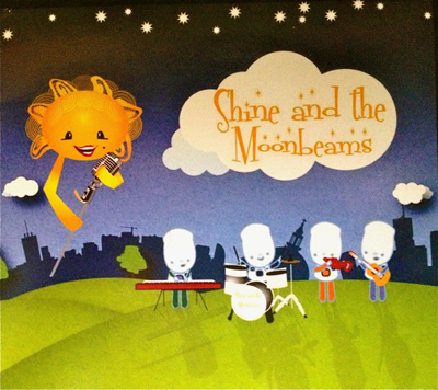 Shine and the Moonbeams CD Cover