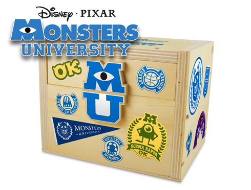 Free Monsters University Chest at Lowe's Build and Grow Clinics