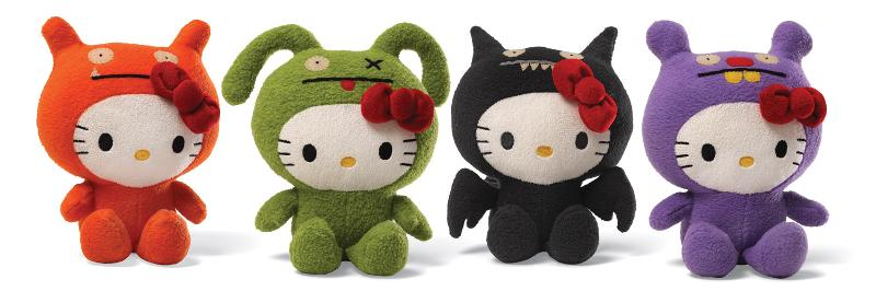 Limited-Edition Hello Kitty® Uglydoll® Collection Will Debut At San Diego Comic-Con
