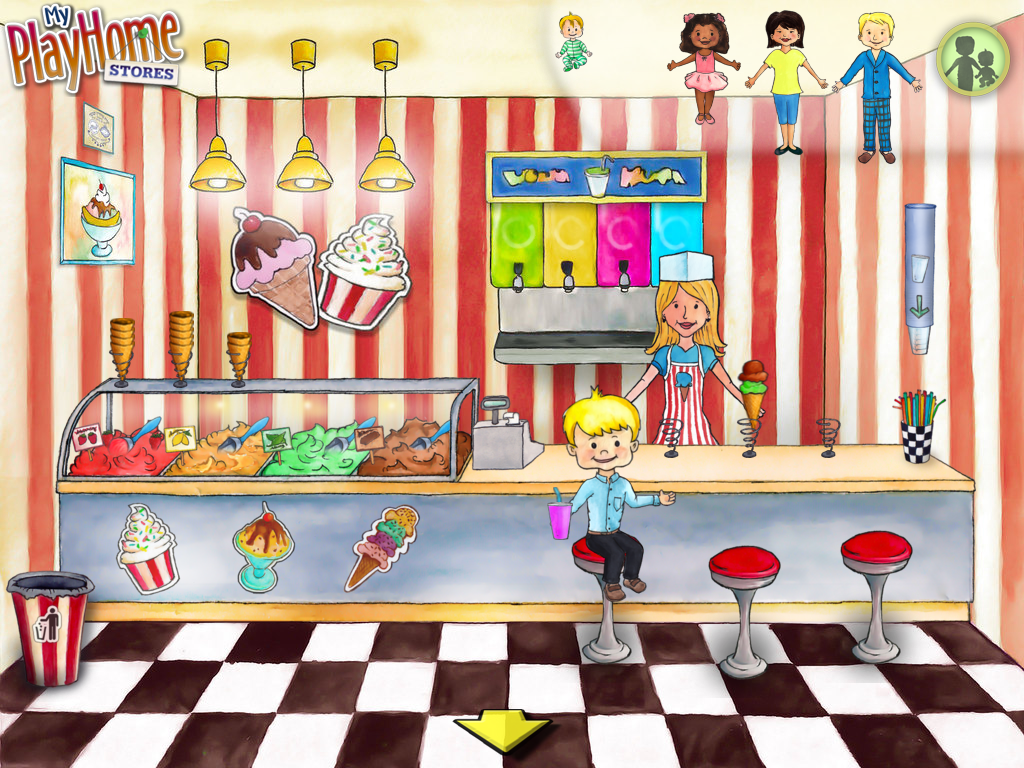 My PlayHome Stores Screenshot Ice Cream