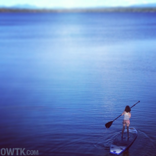 Photographic Evidence of A Girl Growing Up: Lake Champlain