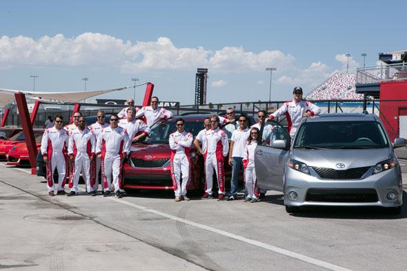 Toyota Sienna AdVANture at Dream Racing
