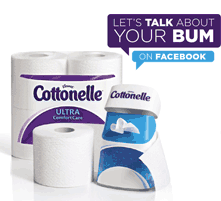 Wipe It All Away With Cottonelle Flushable Cleansing Wipes + The #LetsTalkBums Haiku Contest