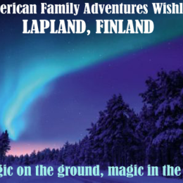 American Family Adventures Series (Wishlist Edition): Lapland, Finland