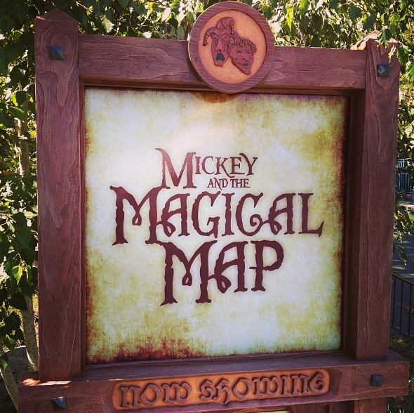 Mickey and the Magical Map Disneyland