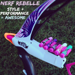 NERF Rebelle Does Girl Culture A Solid