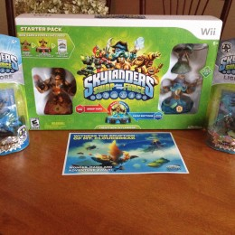 Skylanders SWAP Force Starter Pack + Lightcore Figures Giveaway