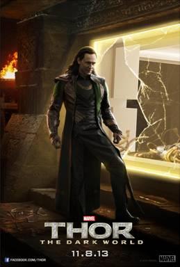 Thor Dark World Loki