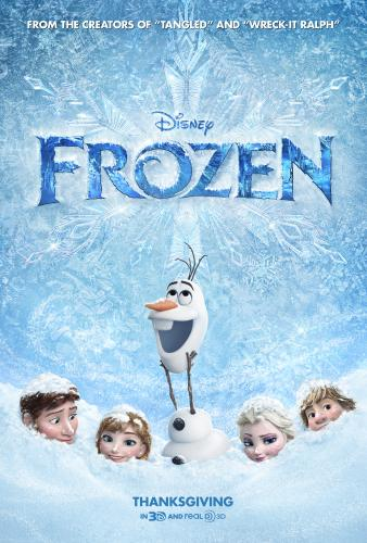 photo regarding Movie Posters Printable identified as frozen online video poster - Out With The Small children