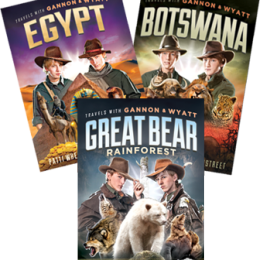 Travel Far And Wide With Gannon & Wyatt PLUS A Giveaway