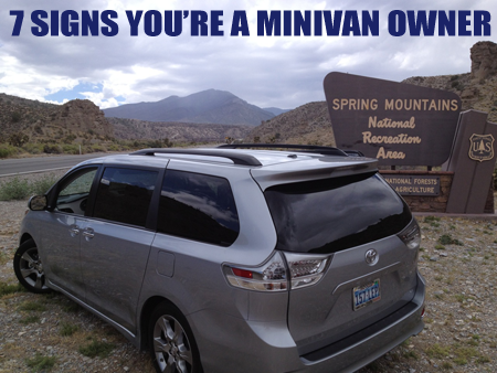 7 Signs Youre A Minivan Owner