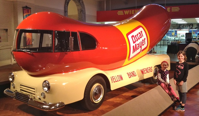 Oscar Mayer Wienermobile at the Henry Ford