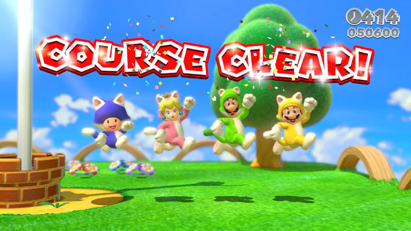 Super Mario World Wii U 3D