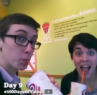 The 100 Days of Valentines Day Viral Video Will Sweeten Your Day