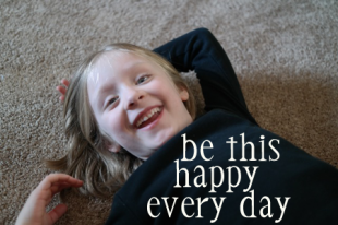 OWTK's Helpful Idea #10: Do What Makes You Happy