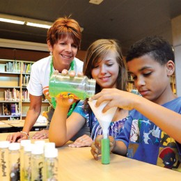 Camp Invention Science Photo