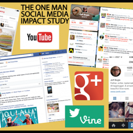 The One Man Social Media Impact Study