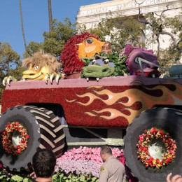 2014 Rose Parade Photos from Street Level