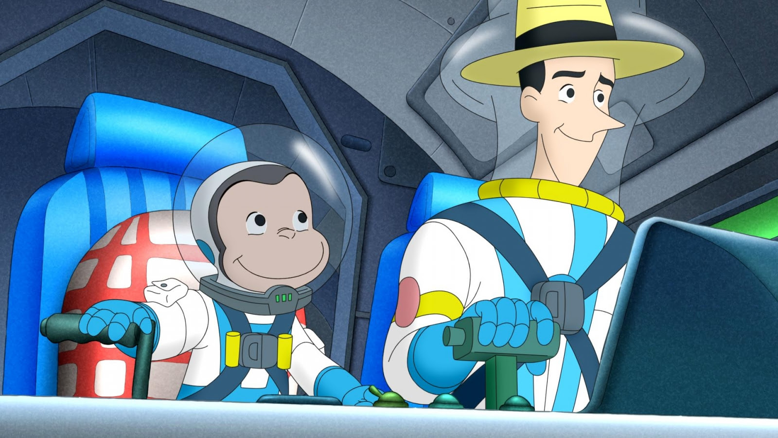curious george goes to mars on may 19th - out with the kids