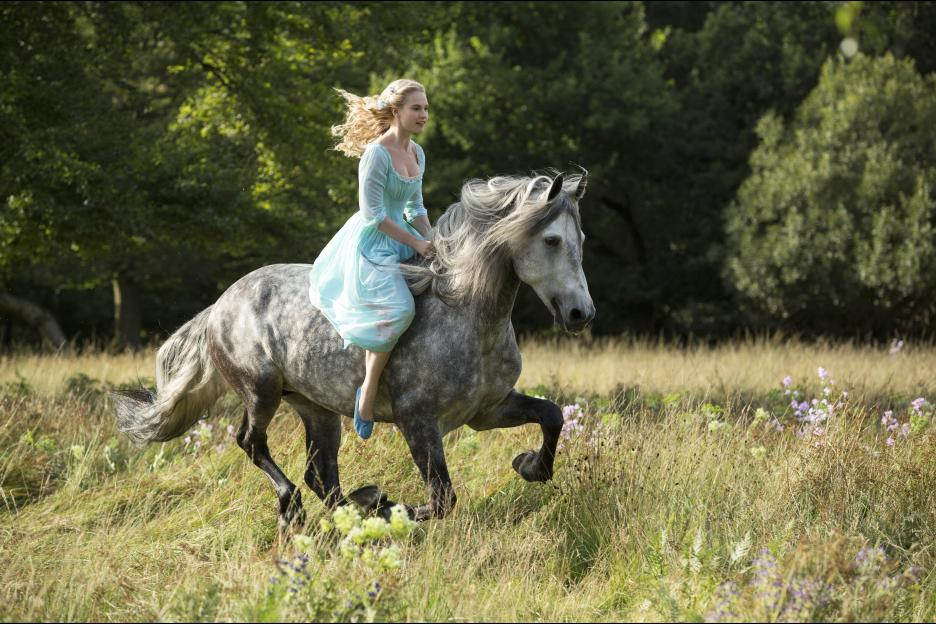 Disney Live Action Cinderella Still Photo Horse