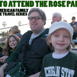 American Family Adventures Series — The Rose Parade