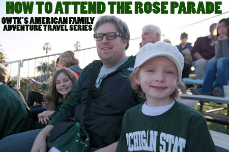 How to Attend The Rose Parade without paying a fortune for tickets