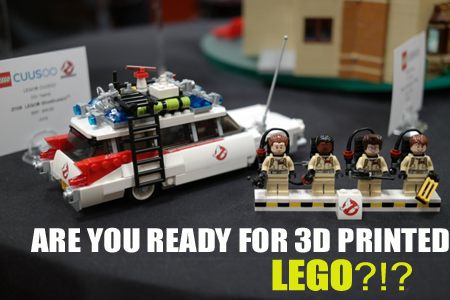 What Could 3D Printing Bring to the Future of LEGO? - Out