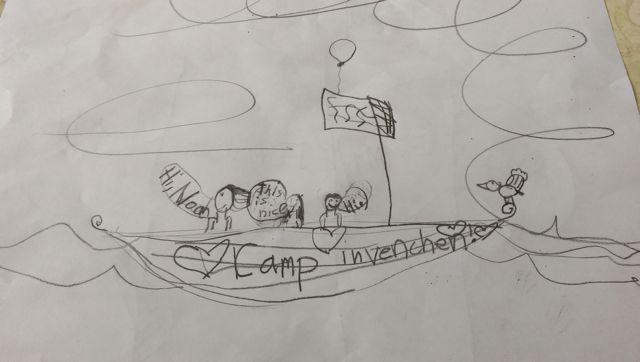 Camp Invention Drawing
