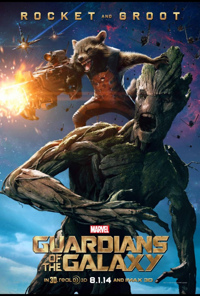 Marvel's GUARDIANS OF THE GALAXY Rocket and Groot Big