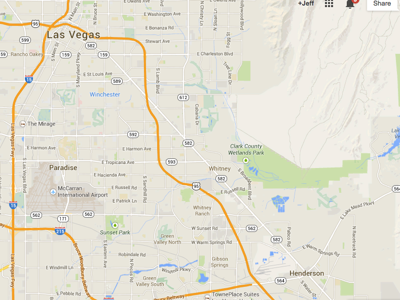 Henderson NV is so close to Vegas yet so refreshingly far away!