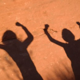 Valley of Fire State Park Shadow Girls