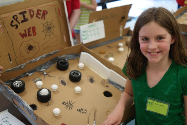 thinking  tinkering  and trying at camp invention 2014